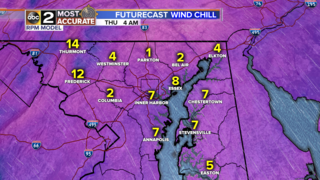 FORECAST: One More Day Of The Cold