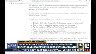 Want to be a professional chicken nugget eater?