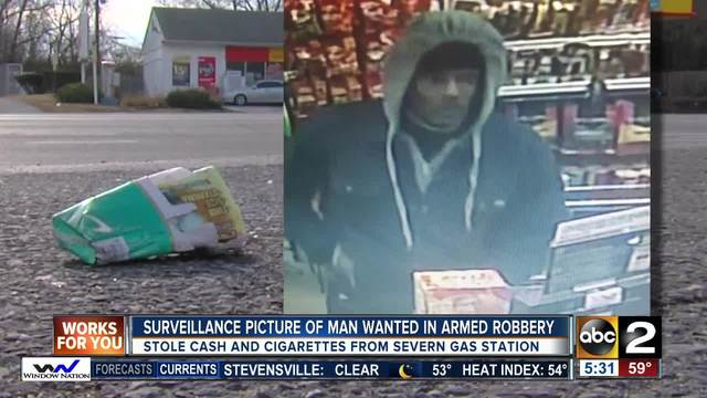 Police searching for gas station robbery suspects