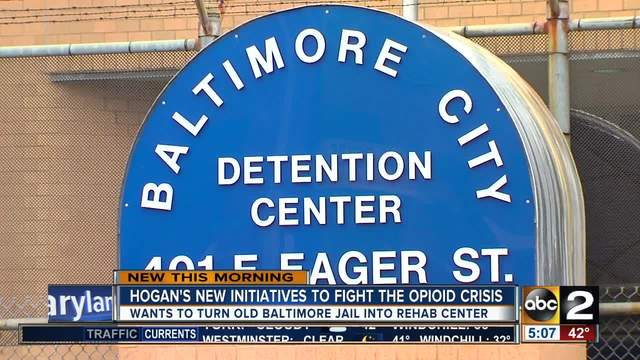 Governor Hogan wants to convert Baltimore City Detention Center into…
