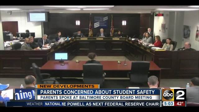 Parents upset about violence at Perry Hall High School