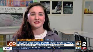 Student Athlete of the Week: Jillian Creswell