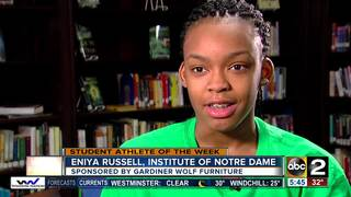 Student Athlete of the Week: Eniya Russell