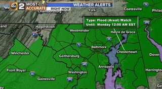 FLOODING CONCERNS: Heavy Rain Train