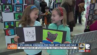 MD SPCA's Kindness for Paws Art Show