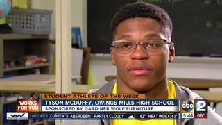Student Athlete of the Week: Tyson McDuffy