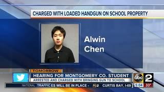 Teen found with gun at school due in court