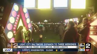 Details announced for Light City Baltimore