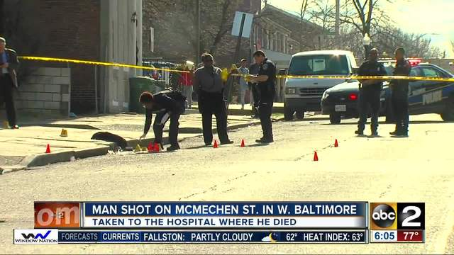 Man shot and killed on Baltimore-s west side