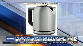 KitchenAid electric kettles being recalled