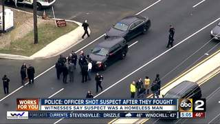 Man injured in police-involved shooting