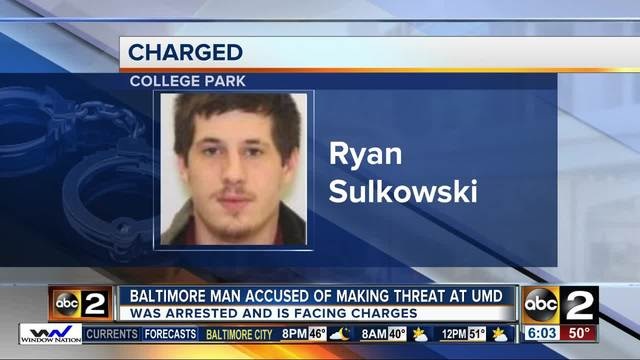 Student charged with threatening to shoot campus police officers