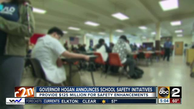 Hogan proposes school security enhancements, changes to some gun laws