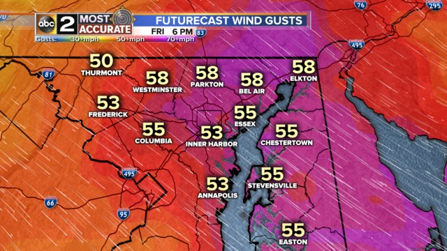 Prepare for strong winds beginning tonight