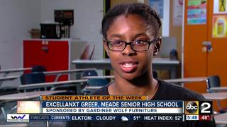Student Athlete of the Week: Excellanxt Greer