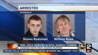 Teen, uncle arrested in stabbing death
