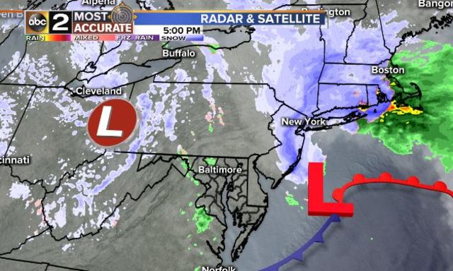 The Mighty Quinn: This week's winter storm will bring mostly all snow