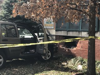 6 injured after car runs into elementary school