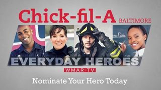 Nominate your hero & win a Chick-fil-A Party!