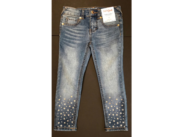 Cat & Jack girls' star studded jeans recalled due to laceration hazard