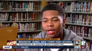 Student Athlete of the Week: Brandon James