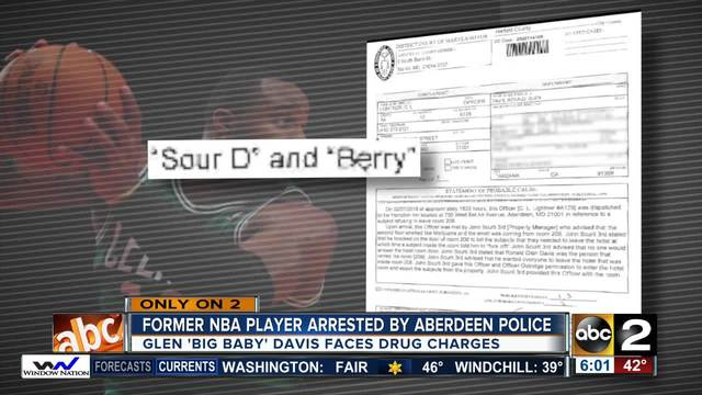 Glen 'Big Baby' Davis Arrested On Drug Possession & Distribution Charges