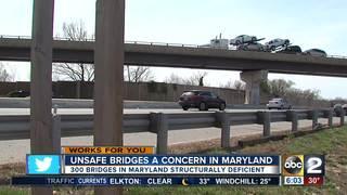 Unsafe bridges a concern in Maryland