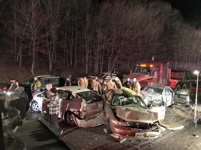 20-Car Pileup Injures Two Dozen On I-270