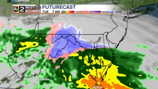 Wintry Mess for the First Day of Spring