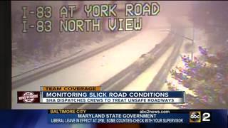MDOT SHA prepare roads for Spring Snowstorm