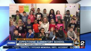 Good morning from Joppatowne Elementary
