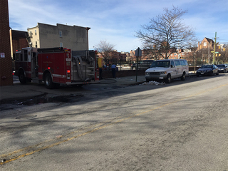 Male hospitalized after being shot