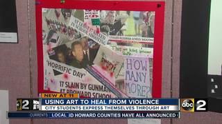 City students using art to raise awareness