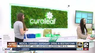 Curaleaf opens dispensary in Reisterstown