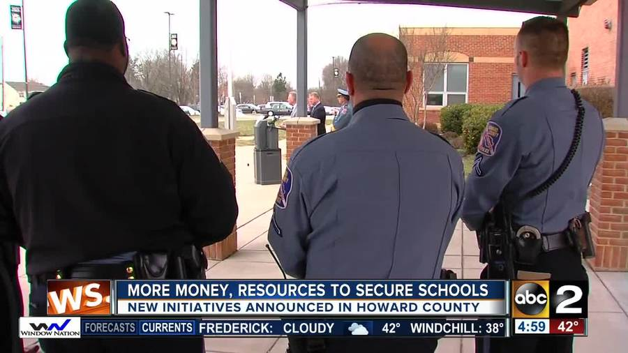 Howard County officials announce initiatives to ramp up security in schools  - WMAR2NEWS