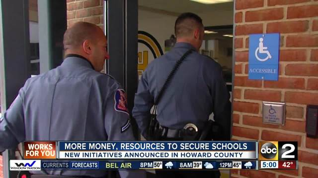 More money, resources to better secure schools