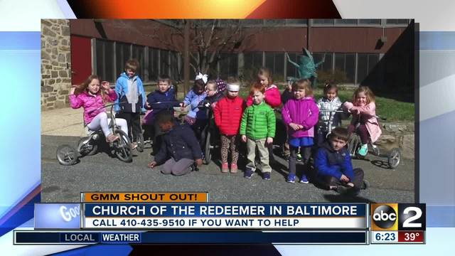 The Church of the Redeemer Parish Day School says good morning- Maryland-