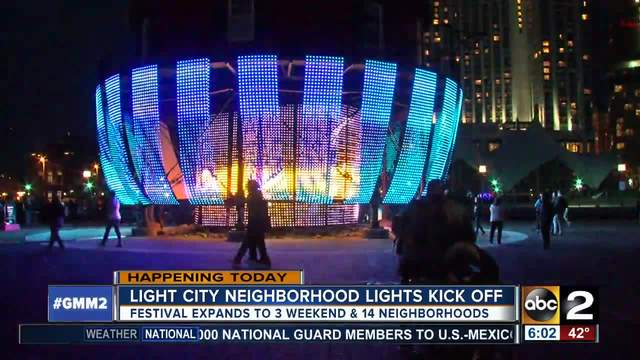 light city kicks off this weekend with more love more lights