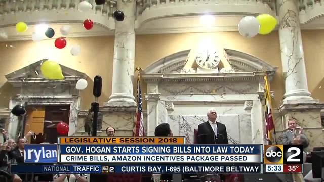 Lawmakers pass major bills for final hours of legislative session