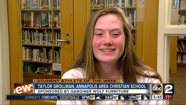 Student Athlete of the Week- Taylor Grollman
