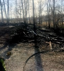 Multiple afternoon brush fires after dry weather