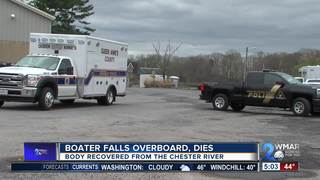 Body of boater who went overboard recovered