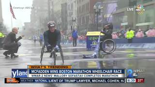 MD native wins Boston Marathon wheelchair race