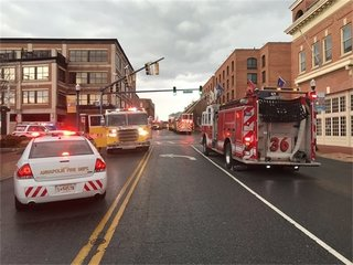 Fire reported at Loews Hotel in Annapolis