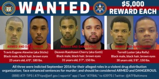 ATF Baltimore raise reward for 3 murder suspects