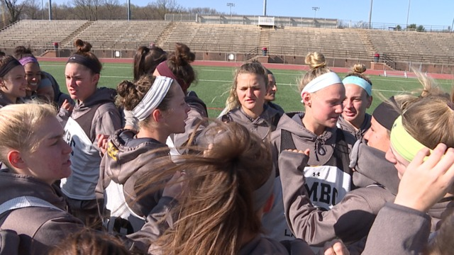 Women's LAX going for UMBC upset trifecta