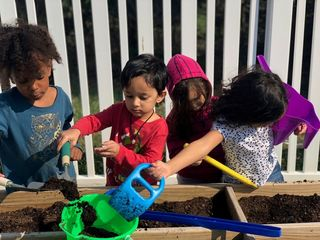 Preschoolers adorably learn about Earth Day