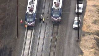 Rail construction worker hit, killed by train