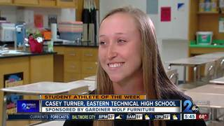 Student Athlete of the Week: Casey Turner
