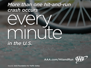 AAA hit-and-run every minute